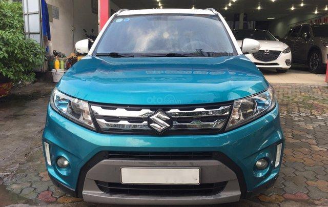 Bán xe Suzuki Vitara đời 2016, màu xanh, giá tốt0