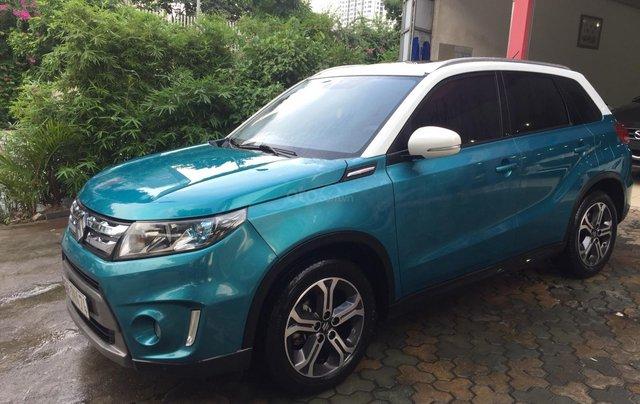 Bán xe Suzuki Vitara đời 2016, màu xanh, giá tốt3