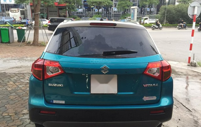 Bán xe Suzuki Vitara đời 2016, màu xanh, giá tốt7