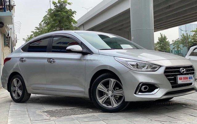 Bán nhanh chiếc Hyundai Accent 1.4 ATH bản đặc biệt màu bạc, giá ưu đãi0