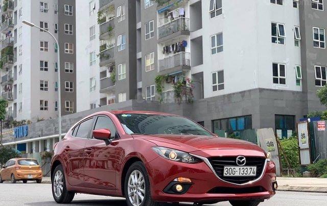 Bán xe Mazda 3 sx 2015, màu đỏ sang trọng1