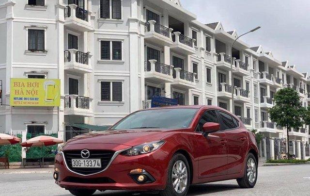 Bán xe Mazda 3 sx 2015, màu đỏ sang trọng4