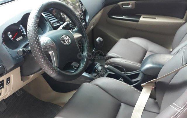 Chính chủ bán xe Toyota Fortuner đời 2016, màu bạc - Cam kết xe tuyệt đối không đâm đụng, ngập nước - Giá cả thương lượng1