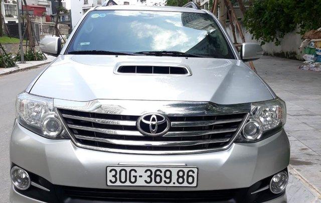 Chính chủ bán xe Toyota Fortuner đời 2016, màu bạc - Cam kết xe tuyệt đối không đâm đụng, ngập nước - Giá cả thương lượng5