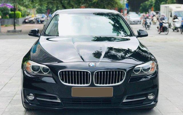 Bán xe BMW 520i model 2015 full options, nhập khẩu nguyên chiếc, màu đen, nội thất kem trẻ trung và sang trọng0