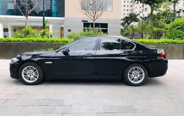 Bán xe BMW 520i model 2015 full options, nhập khẩu nguyên chiếc, màu đen, nội thất kem trẻ trung và sang trọng1