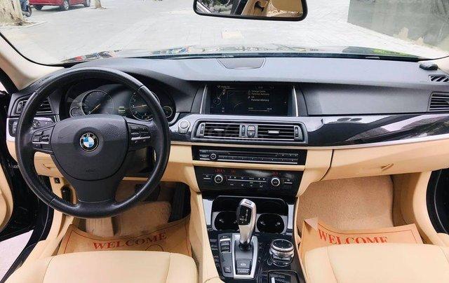 Bán xe BMW 520i model 2015 full options, nhập khẩu nguyên chiếc, màu đen, nội thất kem trẻ trung và sang trọng3