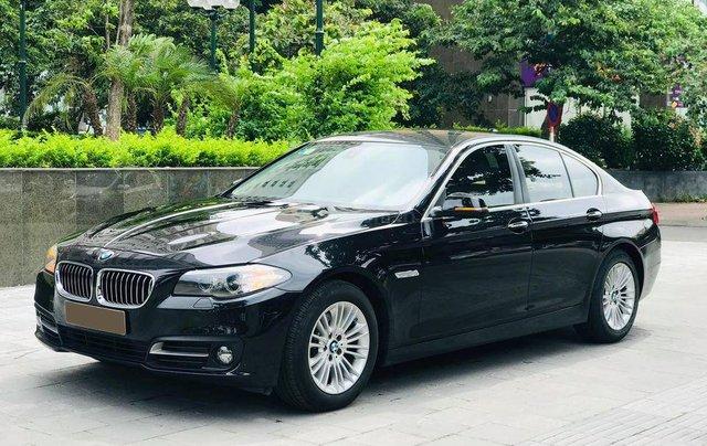 Bán xe BMW 520i model 2015 full options, nhập khẩu nguyên chiếc, màu đen, nội thất kem trẻ trung và sang trọng4