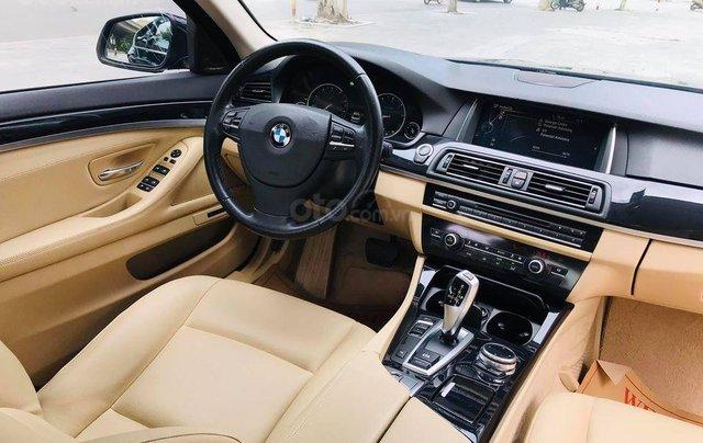 Bán xe BMW 520i model 2015 full options, nhập khẩu nguyên chiếc, màu đen, nội thất kem trẻ trung và sang trọng11