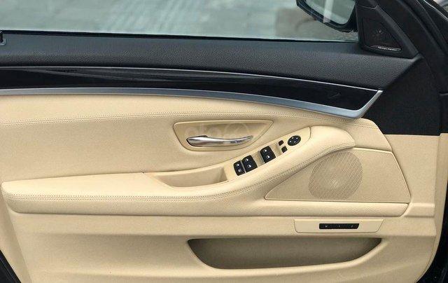 Bán xe BMW 520i model 2015 full options, nhập khẩu nguyên chiếc, màu đen, nội thất kem trẻ trung và sang trọng10