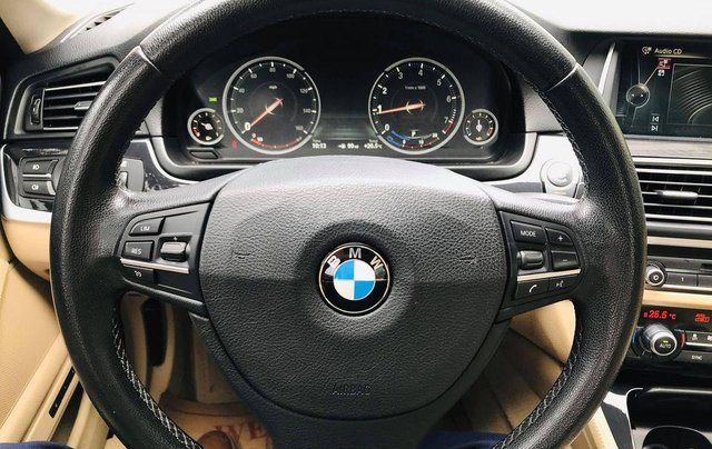 Bán xe BMW 520i model 2015 full options, nhập khẩu nguyên chiếc, màu đen, nội thất kem trẻ trung và sang trọng14