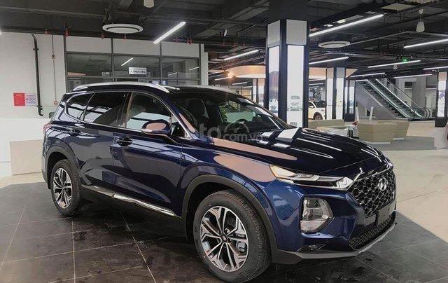 [Siêu khuyến mãi] Hyundai Santa Fe 2020 giảm ngay 50% thuế TB + quà tặng cực kỳ hấp dẫn, trả trước 200 triệu nhận ngay xe4