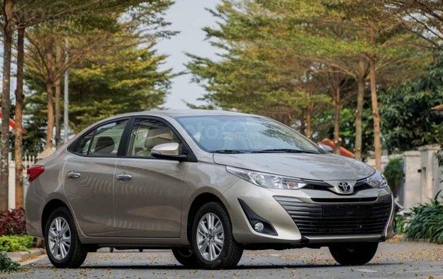 Toyota Vios 1.5G CVT, model 2020 rẻ nhất thị trường0