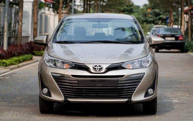 Toyota Vios 1.5G CVT, model 2020 rẻ nhất thị trường1