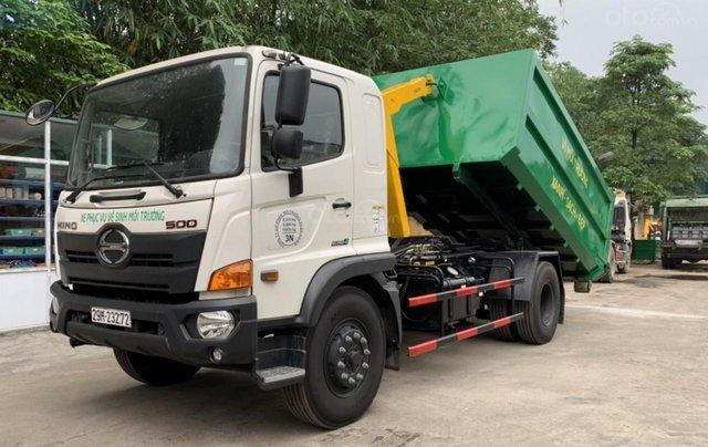 Bán xe chở rác thùng rời Hino Fg 14 khối0