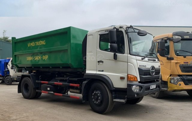 Bán xe chở rác thùng rời Hino Fg 14 khối1