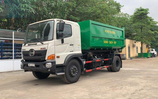 Bán xe chở rác thùng rời Hino Fg 14 khối3