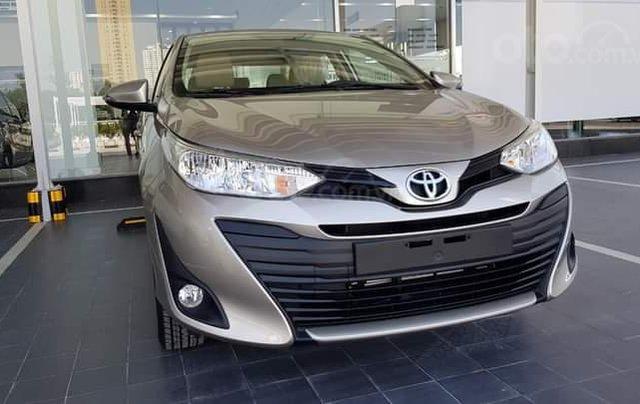 Giá xe Toyota Vios 1.5E CVT 2020 có nhiều ưu đãi tốt tại Toyota Hà Đông0