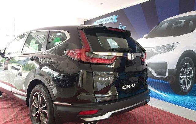 Honda Ôtô Thanh Hóa, giao ngay Honda CRV 1.5L, màu đen, giảm 100% phí trước bạ5