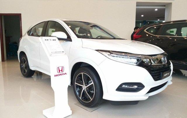 Honda Ôtô Thanh Hóa, giao ngay Honda HRV 1.8L, màu trắng, giảm 50% phí trước bạ và KM khủng tiền mặt0