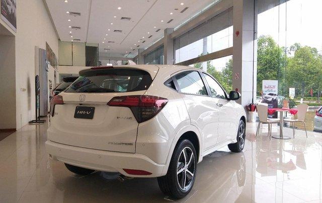 Honda Ôtô Thanh Hóa, giao ngay Honda HRV 1.8L, màu trắng, giảm 50% phí trước bạ và KM khủng tiền mặt5