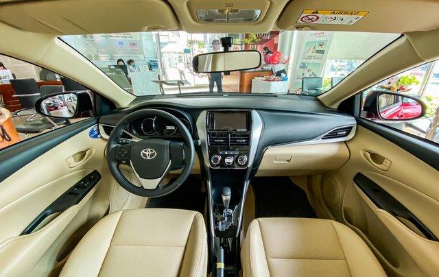 Toyota Vios 1.5E CVT giá tốt, khuyến mãi hấp dẫn, đủ màu giao ngay, hỗ trợ tài chính 85%/8 năm9