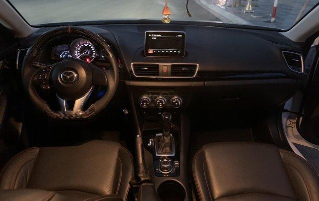Ưu đãi giảm giá sâu với chiếc Mazda 3 màu trắng, đời 2015, xe còn mới, một đời chủ sử dụng7