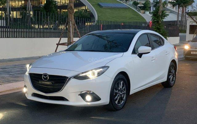 Ưu đãi giảm giá sâu với chiếc Mazda 3 màu trắng, đời 2015, xe còn mới, một đời chủ sử dụng11