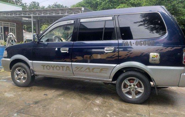 Bán Toyota Zace sản xuất năm 2001, màu xanh lam, xe nhập, 157tr7