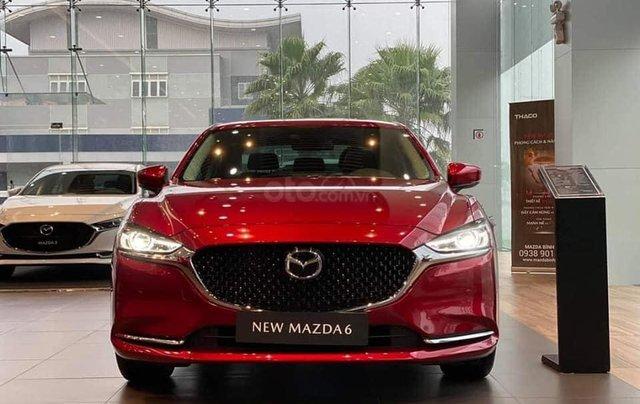 [TPHCM] new Mazda 6 - ưu đãi hơn 50tr - đủ màu - tặng phụ kiện - chỉ 245tr0
