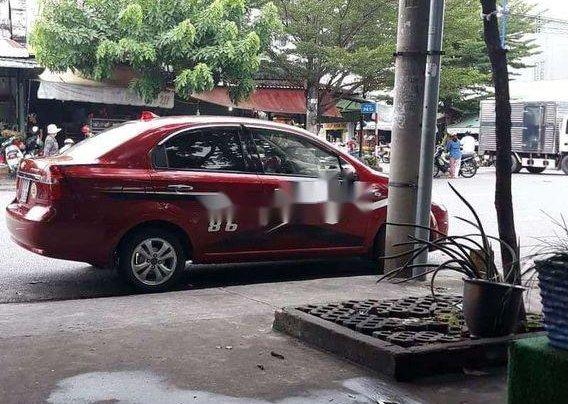 Bán xe Chevrolet Aveo sản xuất 2011, màu đỏ, xe gia đình1