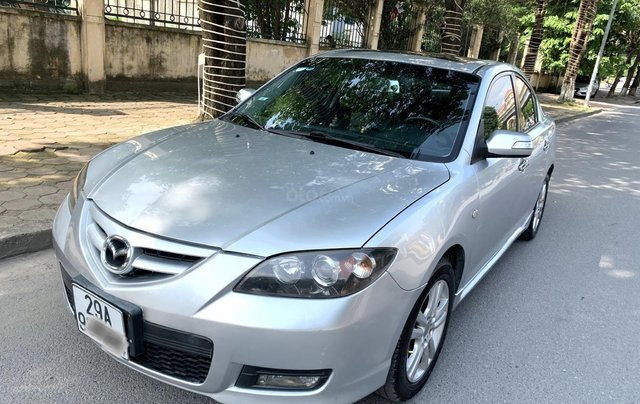 Chính chủ bán Mazda 3 2.0S 2009 bản full option nhập khẩu nguyên chiếc biển TNHN 5 số, đi 12000km, xe cực chất1