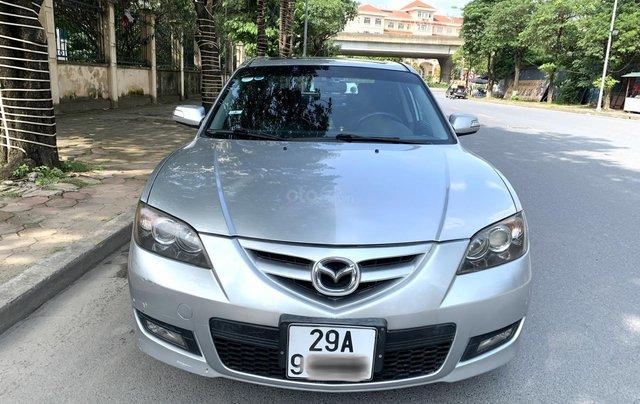 Chính chủ bán Mazda 3 2.0S 2009 bản full option nhập khẩu nguyên chiếc biển TNHN 5 số, đi 12000km, xe cực chất12