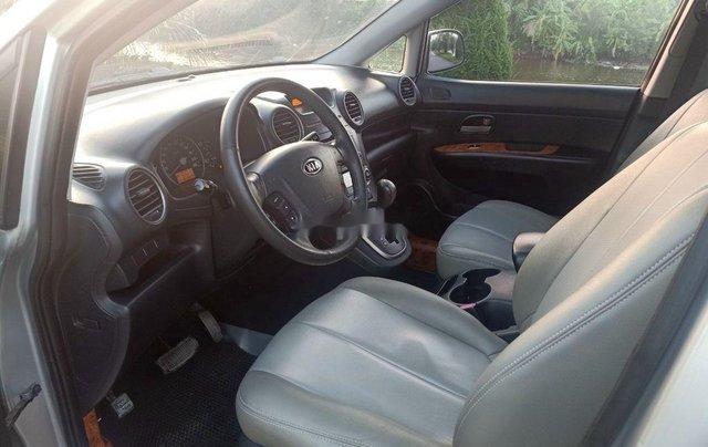 Bán ô tô Kia Carens sản xuất năm 2009, màu bạc, nhập khẩu, số tự động4