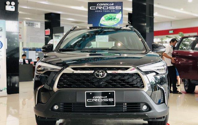 """""""Hot"""" Corolla Cross bản cao cấp, đủ màu giao ngay, nhập Thái - 260 triệu nhận xe ngay0"""