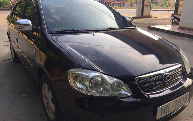 Bán ô tô Toyota Corolla Altis sản xuất 2005, màu đen  2