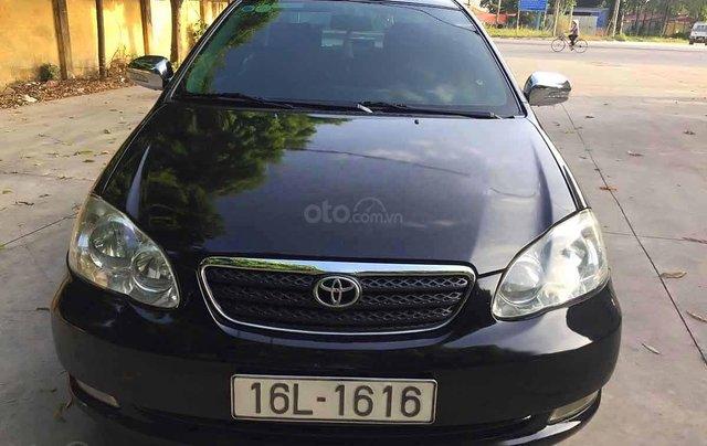 Bán ô tô Toyota Corolla Altis sản xuất 2005, màu đen  0