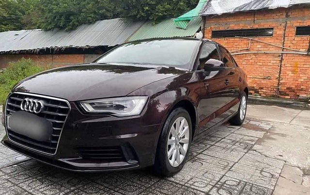 Bán Audi A3 năm 2014, màu nâu, nhập khẩu còn mới0