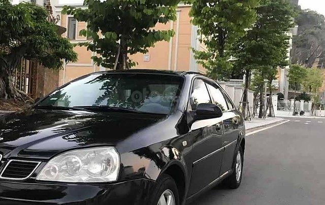 Bán Daewoo Lacetti SE sản xuất năm 2004, màu đen còn mới 1