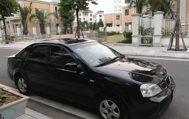Bán Daewoo Lacetti SE sản xuất năm 2004, màu đen còn mới 0