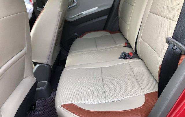 Cần bán xe Morning S 1.25 AT màu đỏ, sản xuất năm 2018, biển thành phố12