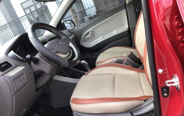 Cần bán xe Morning S 1.25 AT màu đỏ, sản xuất năm 2018, biển thành phố11