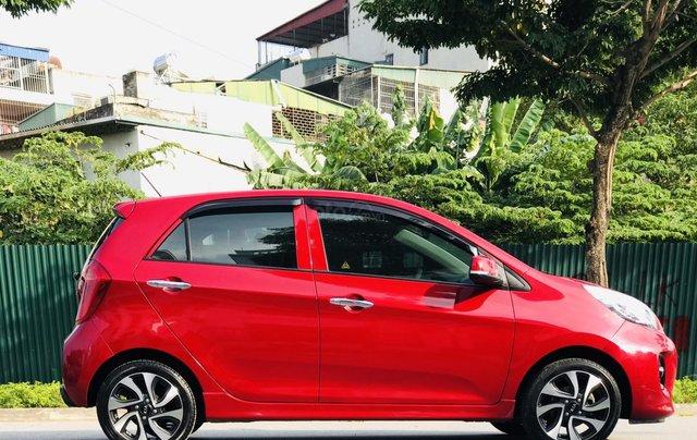 Cần bán xe Morning S 1.25 AT màu đỏ, sản xuất năm 2018, biển thành phố5
