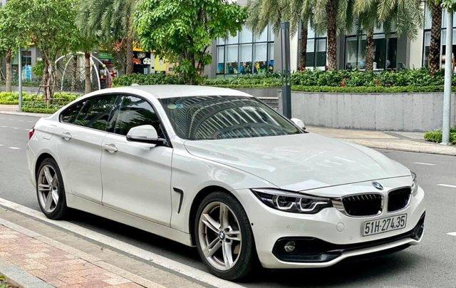 Bán BMW 420i GranCoupe LCI SportLine model 2020, màu trắng1