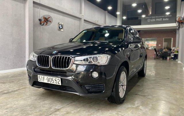 Bán BMW X3 2014 đăng ký 2015, xe đẹp không lỗi bao check hãng1