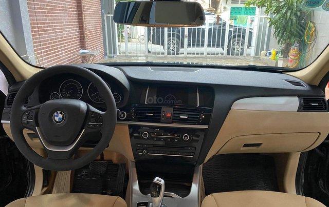 Bán BMW X3 2014 đăng ký 2015, xe đẹp không lỗi bao check hãng8