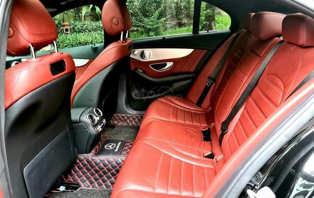 Bán Mercedes-Benz C300 cũ 2019, màu đen, nội thất đỏ duy nhất12