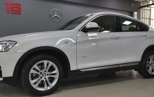 BMW X4 Xdrive 28i 2014, màu trắng, xe nhập1