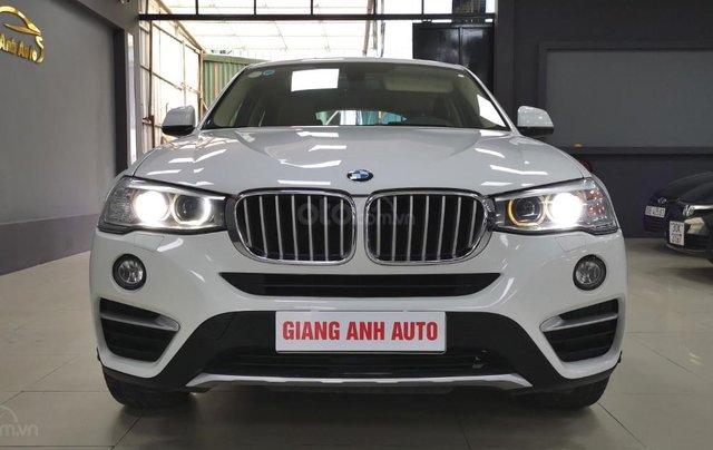 BMW X4 Xdrive 28i 2014, màu trắng, xe nhập0