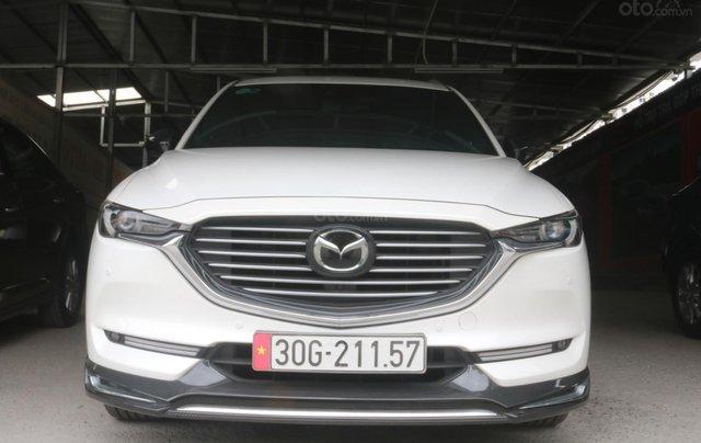 Bán Mazda CX-8 màu trắng bản 2.5, giá cả hợp lý0